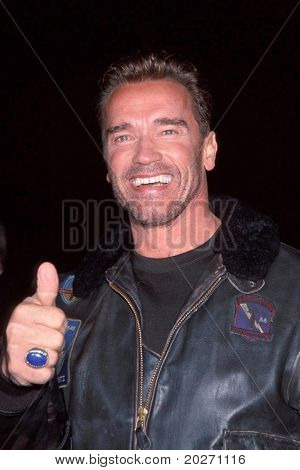 LOS ANGELES - NOV 13:  Arnold Schwarzenegger arriving at the