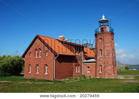Old lighthouse by the sea