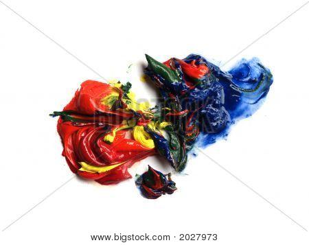Blobs Of Oilpaint