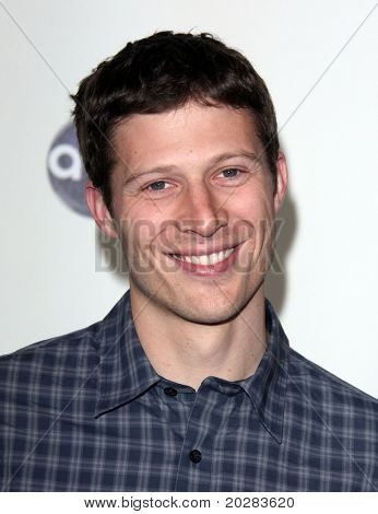 LOS ANGELES - JAN 10:  Zach Gilford arrives to Winter Press Tour 2011-ABC  on January 10,2011 in Hollywood, CA