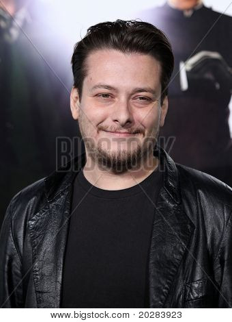 LOS ANGELES - JAN 10:  Edward Furlong arrives to Los Angeles Premiere of
