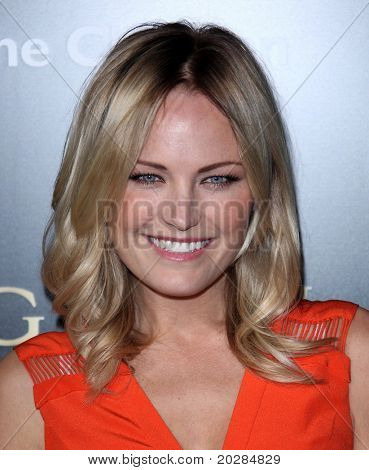 LOS ANGELES - JAN 13: Malin Akerman arrives to Bvlgari Hosts Funraiser for Save The Children  on January 13, 2011 in Los Angeles, CA.