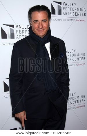LOS ANGELES - JAN 29:  Andy Garcia arrives to the Valley Performing Arts Center Opening Gala  on January 29,2011 in Northridge, CA