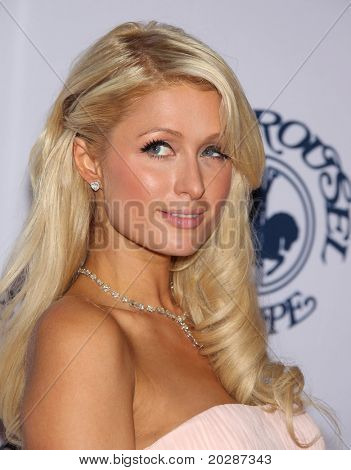 LOS ANGELES - OCT 23:  PARIS HILTON arrive to the Carousel of Hope 2010  on October 23,2010 in Beverly Hills, CA