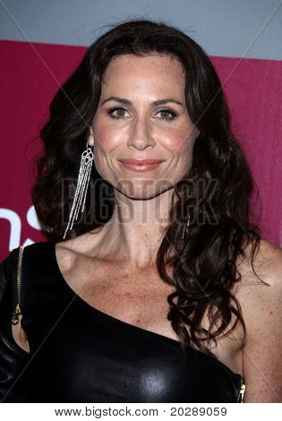LOS ANGELES - JAN 16:  Minnie Driver arrives to the 12th Annual WB-In Style Golden Globe After Party  on January 16, 2011 in Beverly Hills CA