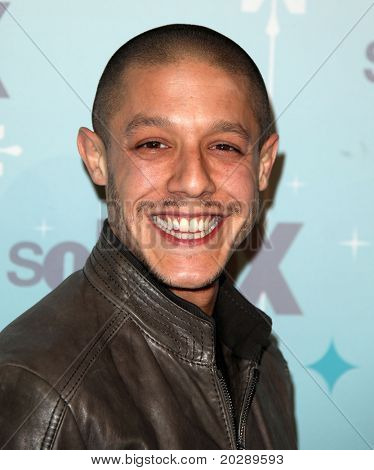 PASADENA, CA - JAN 11:  Theo Rossi arrives at the FOX All-Star Party on January 11, 2011 in Pasadena, CA