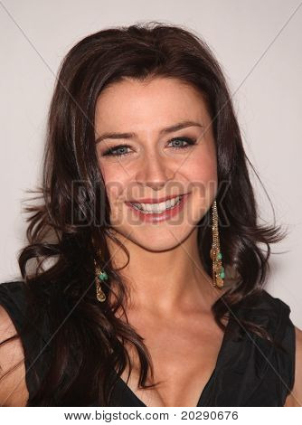 LOS ANGELES - AUG 01:  Caterina Scorsone arrives at the 2010 Breakthrough Awards on August 1, 2010 in Beverly Hills, CA