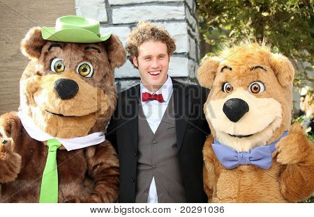 LOS ANGELES - DEC 11:  TJ Miller arrives to the 'Yogi Bear' Los Angeles Premiere  on December 11, 2010 in Westwood, CA