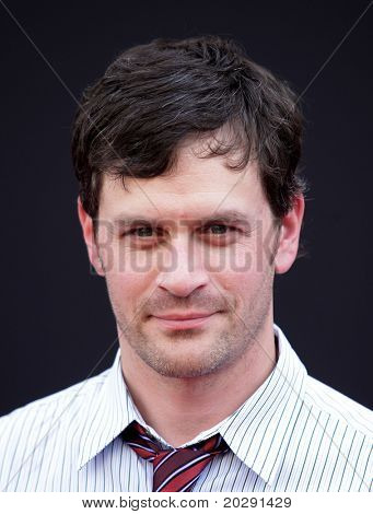 LOS ANGELES - MAR 06:  Tom Everett Scott arrives at the
