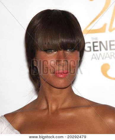 LOS ANGELES - MAR 19: Leona Lewis arrives to the 25th Annual Genesis Awards  on March 19, 2011 in Century City, CA