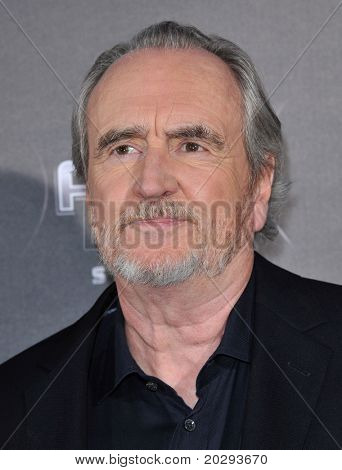 LOS ANGELES - APR 11:  Wes Craven arrives to