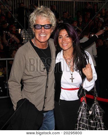 "LOS ANGELES - MAY 07:  Kevin Cronin & Wife arrives to the ""Pirates of the Caribbean: On Stranger Tides"" World Premiere  on May 7, 2011 in Anaheim, CA"
