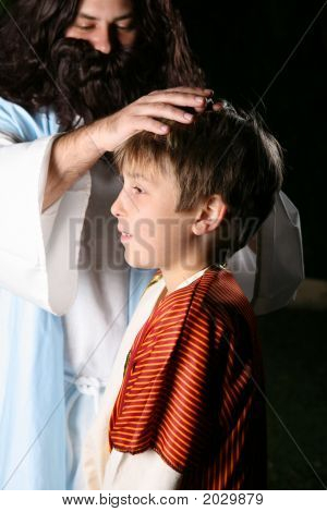 Jesus Blessing The Children