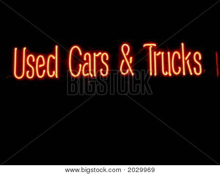 Neon Cars And Trucks Neon Sign