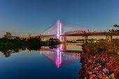 Постер, плакат: Kosciuszko Bridge New York City