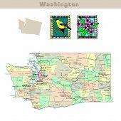 Usa States Series: Washington