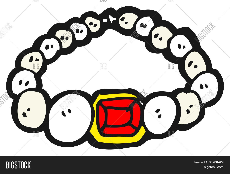 Imagen y foto Dibujos Animados De Collar De  Bigstock