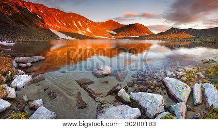Fire Lake