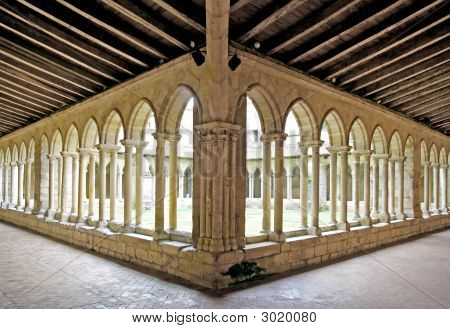 St Emilion Church Cloister