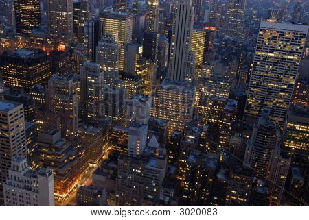 New York City At Night