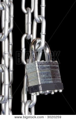 Heavy Chains With Padlock