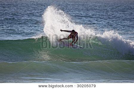 Slashing Surfer - Manly Beach