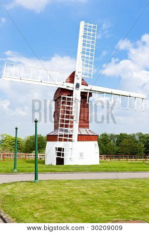 Madingley Windmill, East Anglia, England
