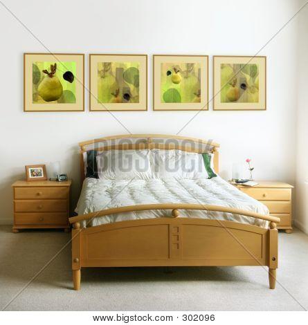 Modern Bedroom Iterior