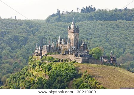 Reichsburg Castle, Cochem, Rhineland-Palatinate, Germany