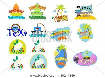 icon travel vector