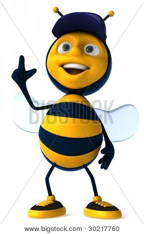 Trabalhador de abelha