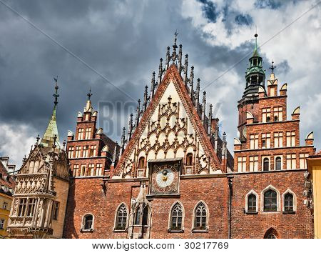 The City Hall, Wroclaw, Poland