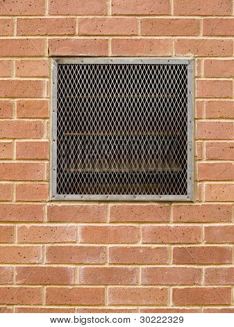 Brick Wall With Vent
