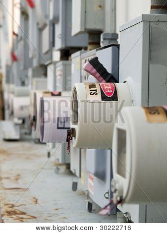 Industrial Power Cutoff