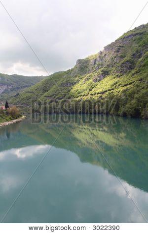 Riverbank Of Drina, Bosnia