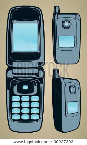 Vector Cell Phone