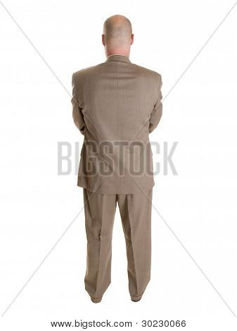 Businessman Backside