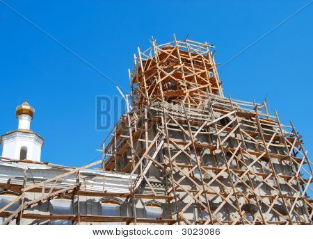 Russian Church Under Construction