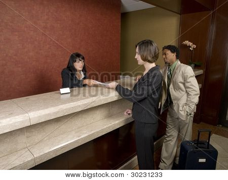 Hotel - Business Travelers