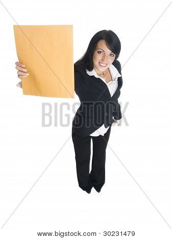 Businesswoman - Interoffice Mail
