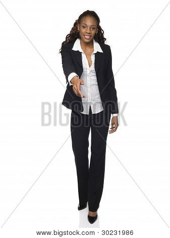 Businesswoman - Handshake