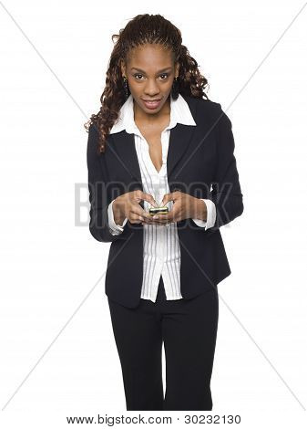 Businesswoman - Texting