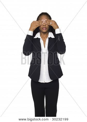 Businesswoman - See No Evil