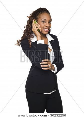 Businesswoman - Phone Call