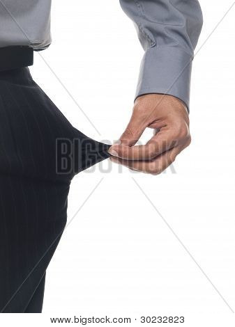 Businessman - Empty Pocket