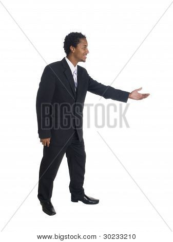 Businessman - Side Dance