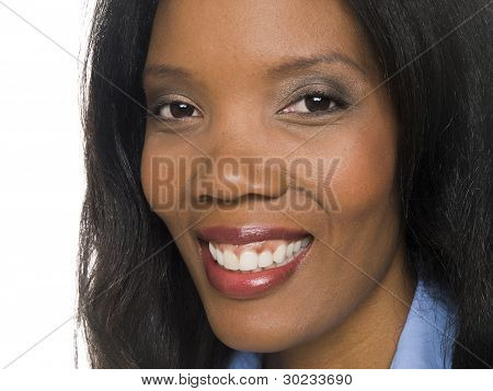 Businesswoman - Closeup Smile