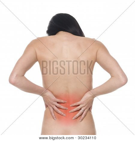 Woman - Lower Back Pain