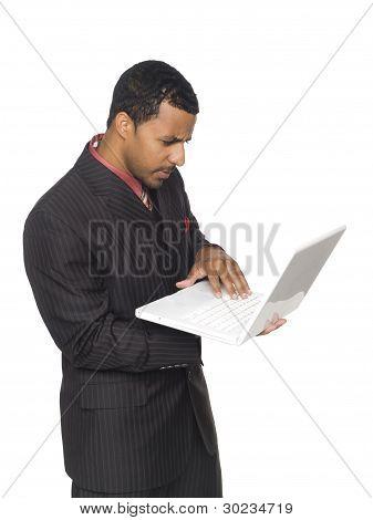 Kaufmann - Durchführung Laptop