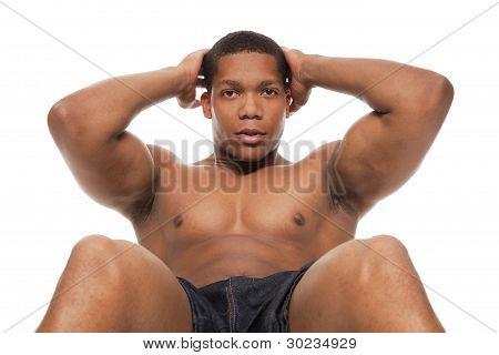 Muscular Man - Situps